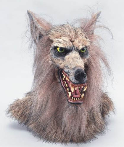 Film und Horror Maske Deluxe Werwolf
