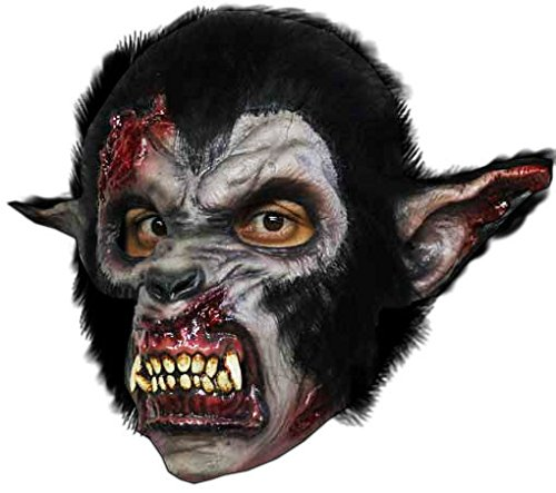 Tolle blutige Werwolf Maske Night Wolf für Horror