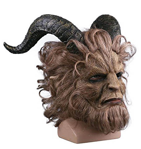 Gute Horror Maske aus Latex The Beast