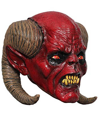 Horror Latex Maske Dämon Balaam