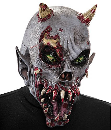 Tolle Horror Latex Maske Halloween Dämon