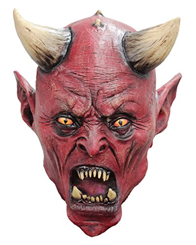Gute Horror Maske Satan aus Latex