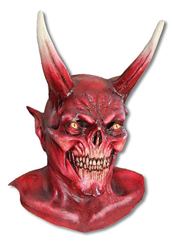 Gute Horror Halloween Maske Satan aus Latex