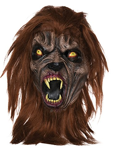 Horror und Halloween Maske Biest Werwolf