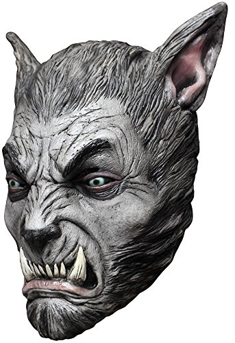Horror und Halloween Maske Werwolf Beast