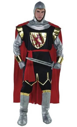 Kostüm Ritter für Herren Knight Crusader Dress